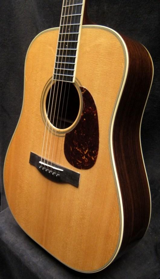 Santa Cruz Guitar Model D front angle