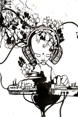 electronic_music_flowers_by_nullbom