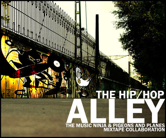 THE HIP HOP ALLEY COLAB MIXTAPE_FRONT
