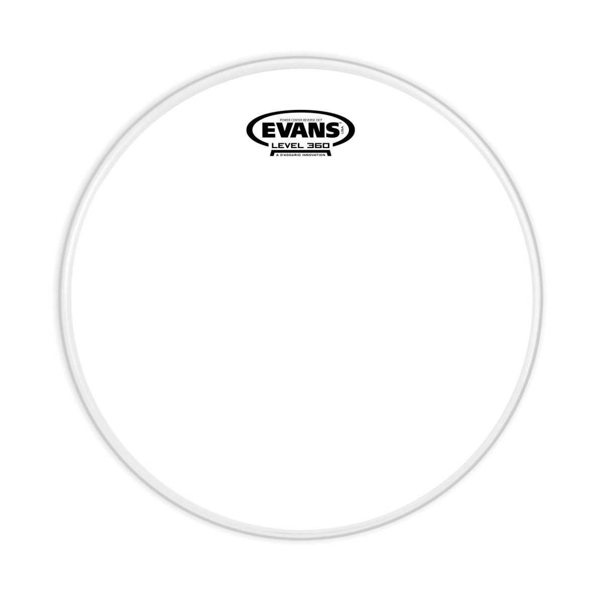 Evans Power Center Reverse Dot Snare Drum Head