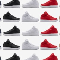 (Fashion) NIKELAB TO RELEASE FIVE COLORWAYS OF THE AIR FORCE 1 MID THIS SATURDAY