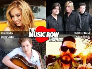 Showcase: Guests Risa Binder, Flat River Band, Davis Corley, Adam James)