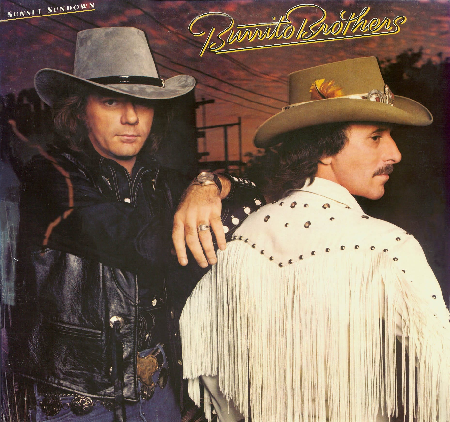 Burrito Brothers - Sunset Sundown (1982) CD 12