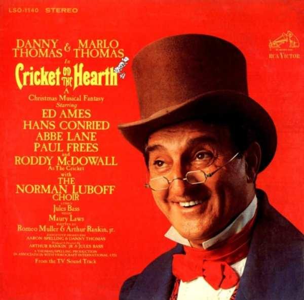 Cricket On The Hearth (Danny Thomas and Marlo Thomas) - Original Soundtrack (1967) CD 1