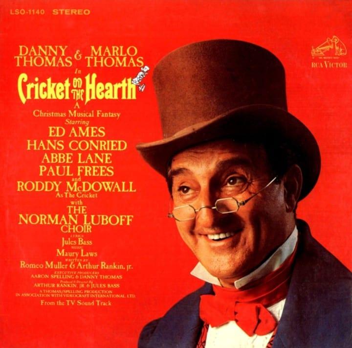 Cricket On The Hearth (Danny Thomas and Marlo Thomas) - Original Soundtrack (1967) CD 5