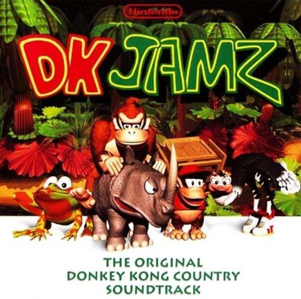 DK Jamz - The Original Donkey Kong Country Soundtrack (1995) CD 1