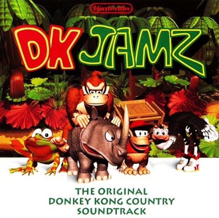 DK Jamz - The Original Donkey Kong Country Soundtrack (1995) CD 7