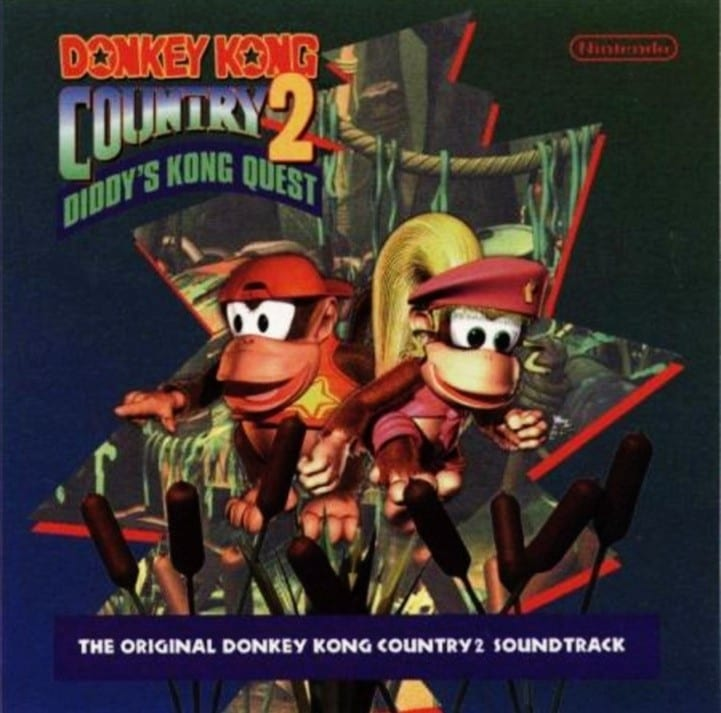 Donkey Kong Country2: Diddy's Kong Quest - The Original Donkey Kong Country2 Soundtrack (1995) CD 8