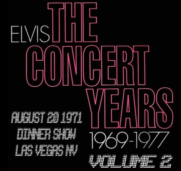 Elvis Presley - The Concert Years, Vol. 2 (1970) CD 1