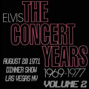 Elvis Presley - The Concert Years, Vol. 2 (1970) CD 50
