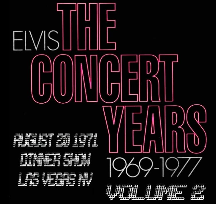 Elvis Presley - The Concert Years, Vol. 2 (1970) CD 9