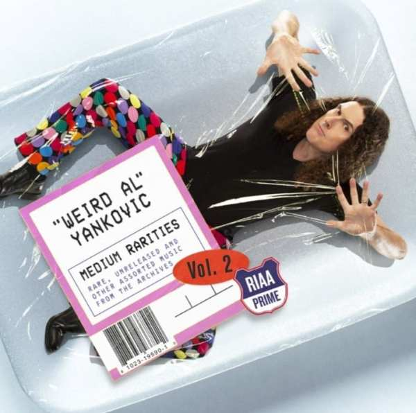 """Weird Al"" Yankovic - Medium Rarities Vol. 2 (2019) CD 1"