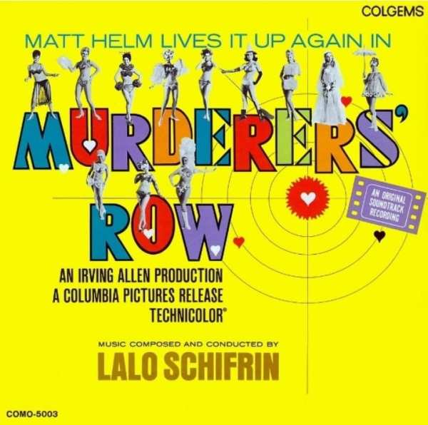 Murderers' Row - Original Soundtrack (BONUS TRACK) (1967) CD 1