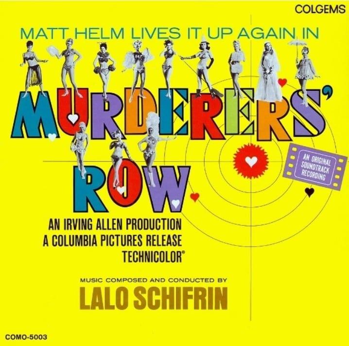 Murderers' Row - Original Soundtrack (BONUS TRACK) (1967) CD 9