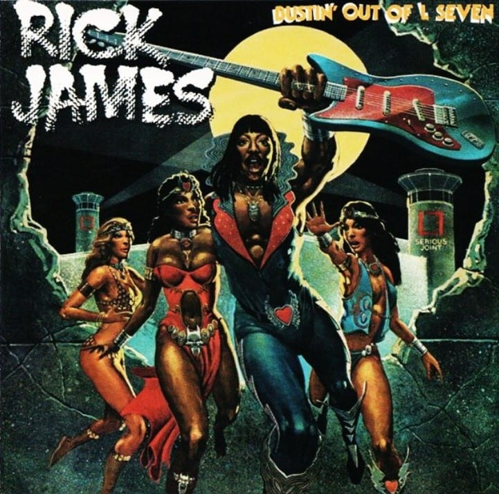 Rick James - Bustin' Out Of L Seven (EXPANDED EDITION) (1979) CD 7