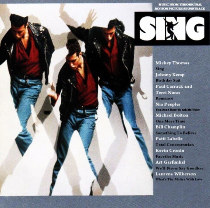 Sing - Original Soundtrack (1989) CD 12