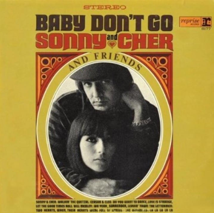 Sonny & Cher and Friends - Baby Don't Go (1964) CD 17