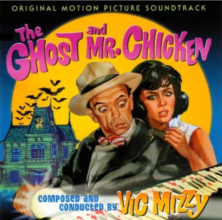 The Ghost And Mr. Chicken (Vic Mizzy) - Original Soundtrack (1966) CD 8