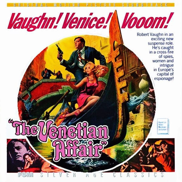 The Venetian Affair - Original Soundtrack (EXPANDED EDITION) (Lalo Schifrin) (1967) CD 5