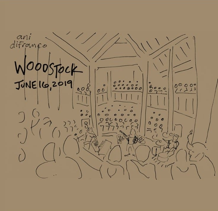 Ani DiFranco - Woodstock 06.16.19 (LIVE) (2019) 2 CD SET 9
