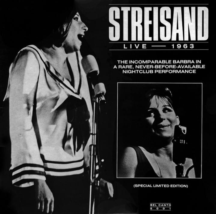 Barbra Streisand - Live 1963 (SPECIAL LIMITED EDITION) (1963) CD 14