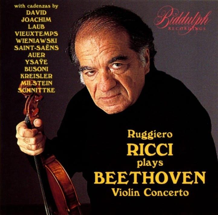 Ruggiero Ricci - Beethoven Violin Concerto (1995) CD 8