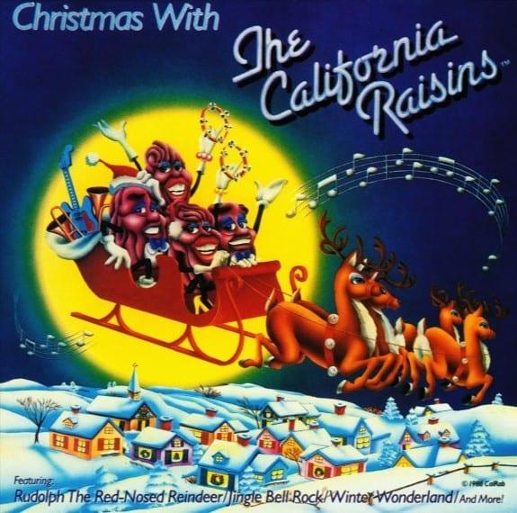 The California Raisins - Christmas With The California Raisins (+ BONUS TRACK) (1988) CD 1