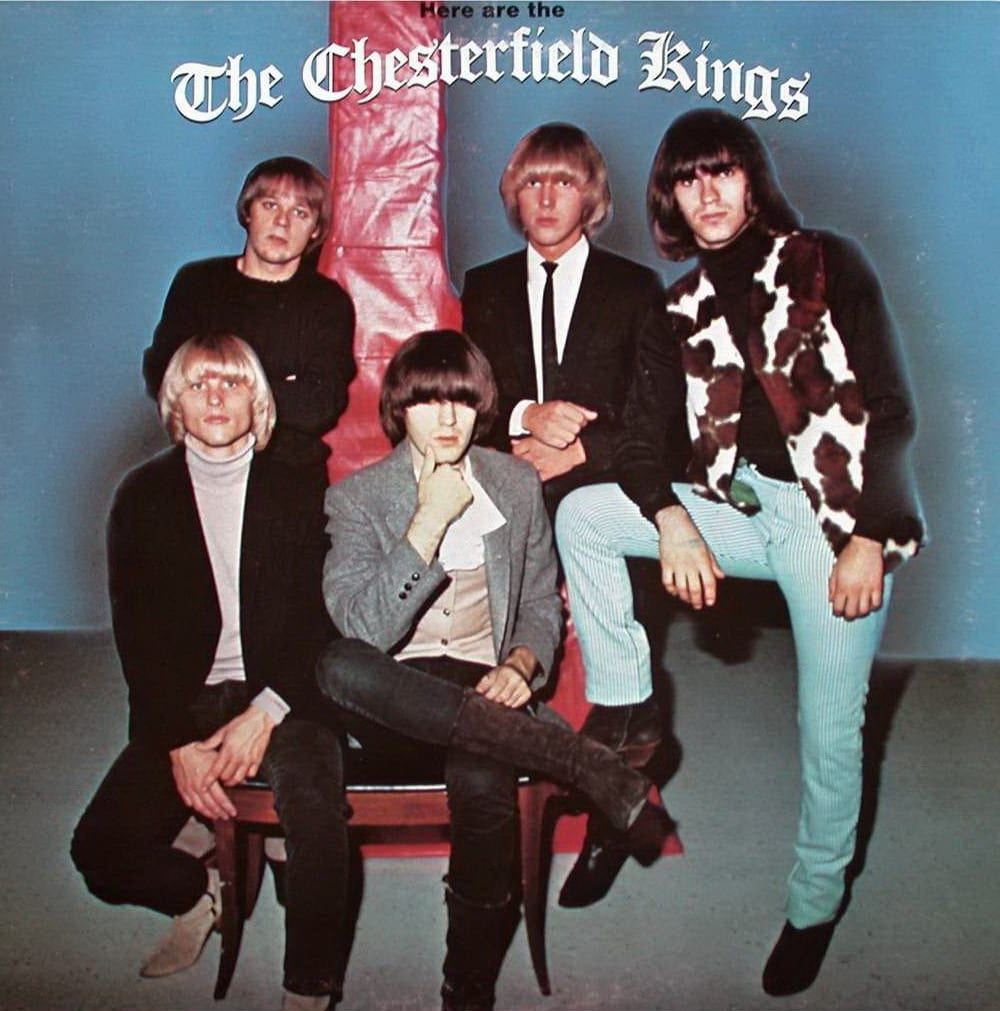 The Chesterfield Kings - Here Are The Chesterfield Kings (1983) CD 10