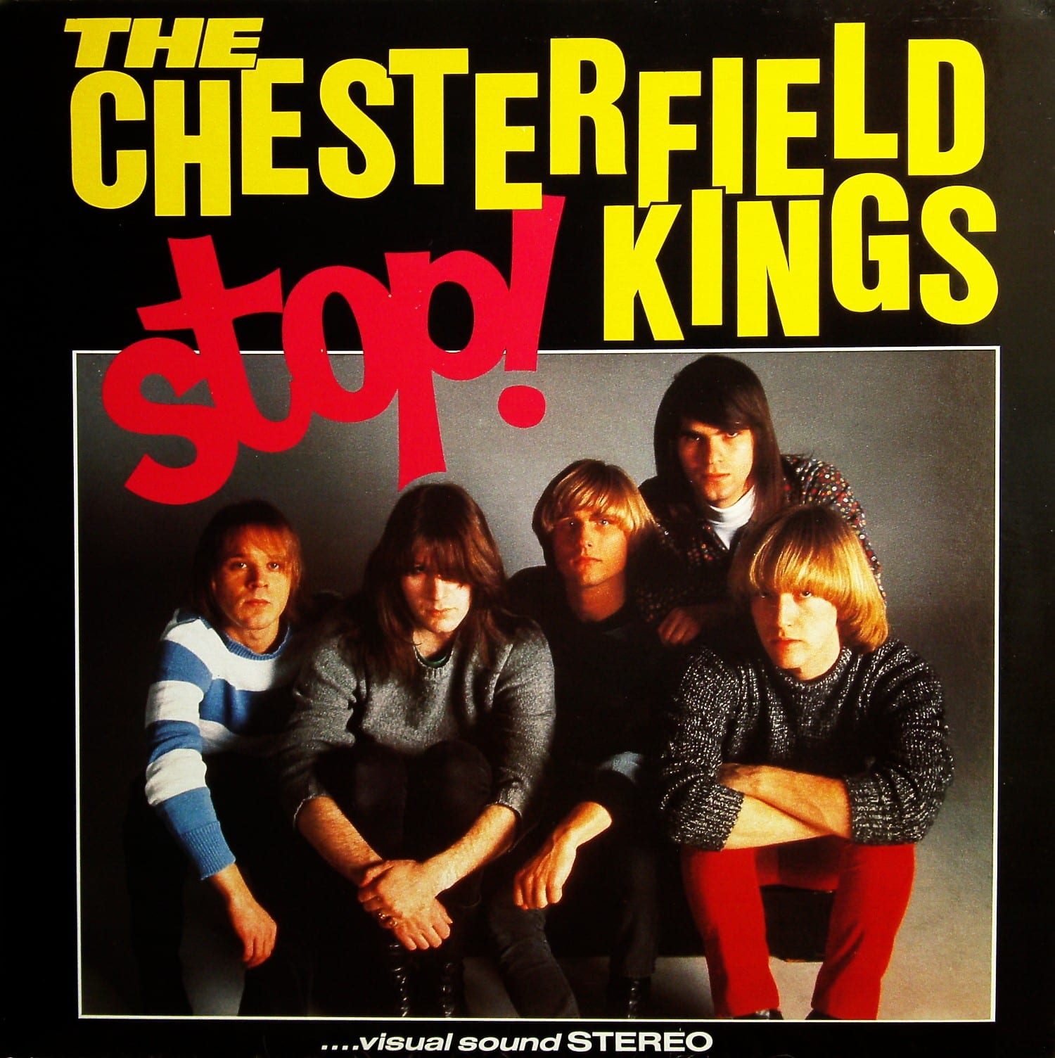 The Chesterfield Kings - Stop! (1985) CD 9