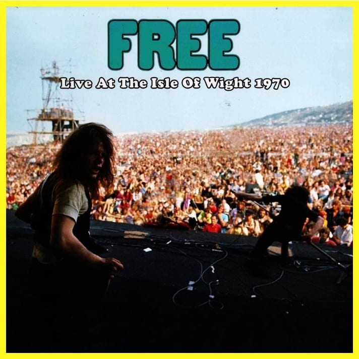 Free - Live At The Isle Of Wight 1970 (Open Mind Records) (2017) CD 9