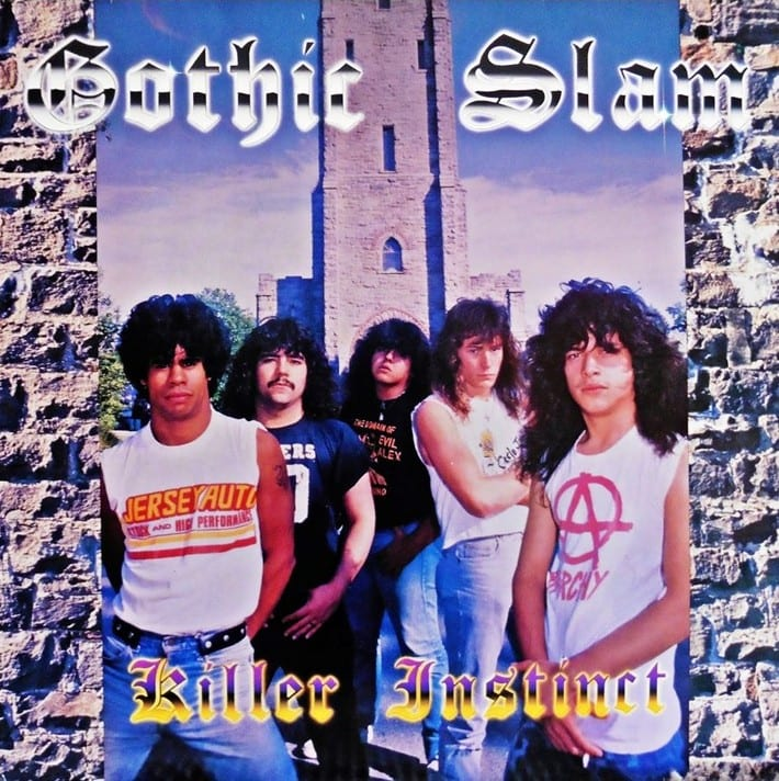 Gothic Slam - Killer Instinct (1988) CD 9