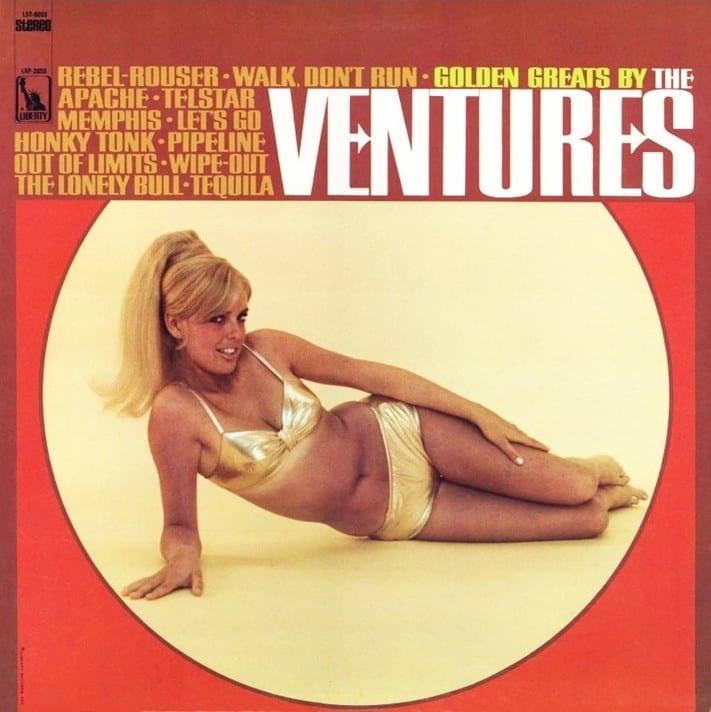 The Ventures - Golden Greats By The Ventures (1967) CD 8