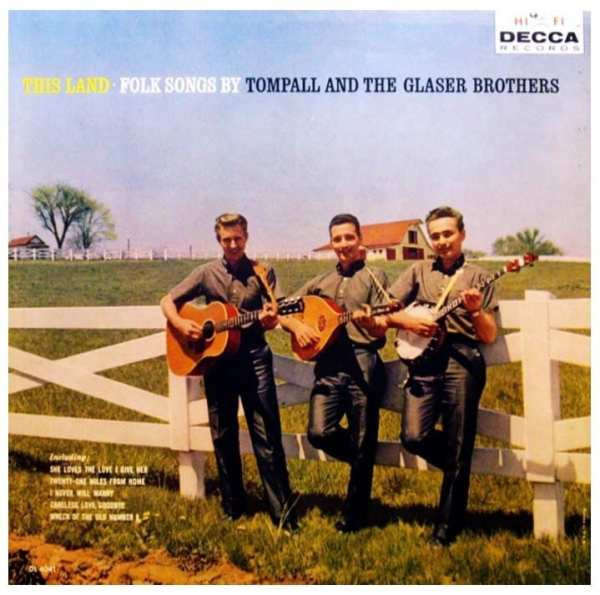 Tompall And The Glaser Brothers - This Land (1960) CD 1