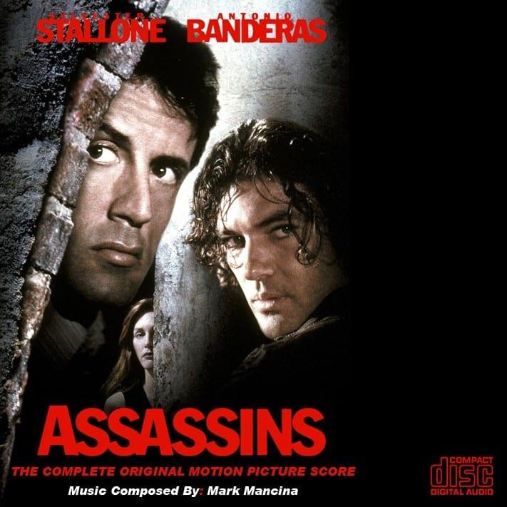 Assassins (Mark Mancina) (THE COMPLETE ORIGINAL MOTION PICTURE SCORE ) (1995) CD 4