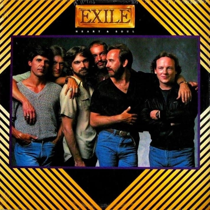 Exile - The Best Of Exile (1985) CD 8