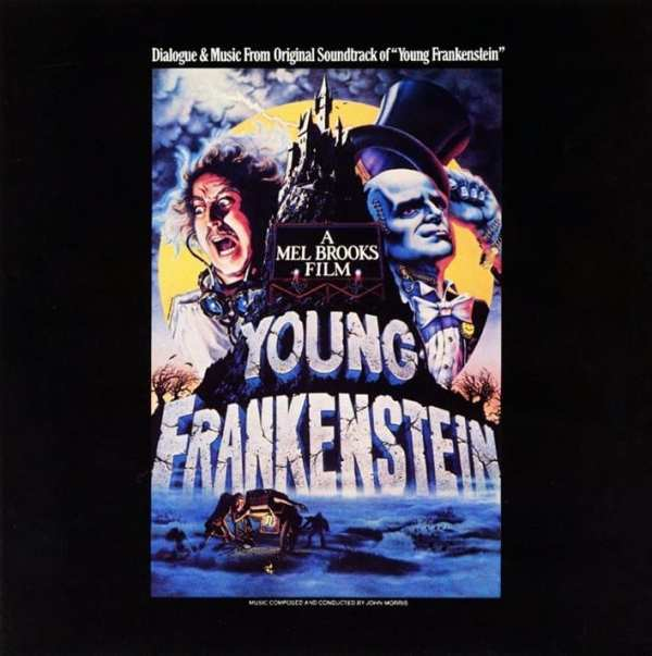 John Morris ‎- Dialogue & Music From Original Soundtrack Of Young Frankenstein (1974) CD 1