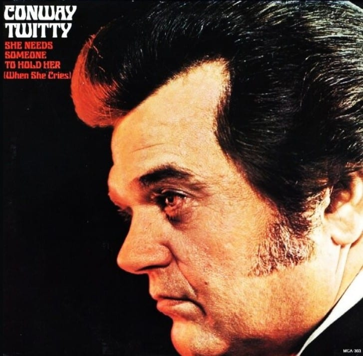 Conway Twitty - I Can't Stop Loving You / (Lost Her Love) On Our Last Date (1972) CD 9