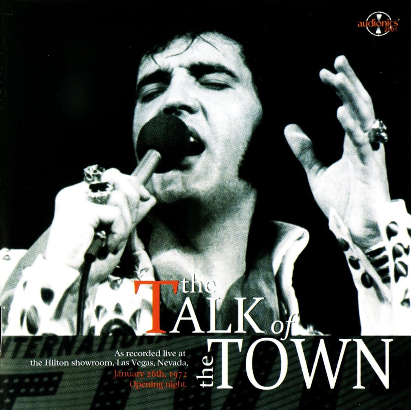 Elvis Presley - The Talk Of The Town (January 26, 1972) (2008) CD 9
