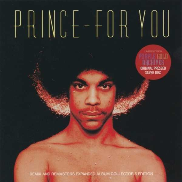 Prince ‎- For You: Expanded Album Collector's Edition (2019) 2 CD SET 1