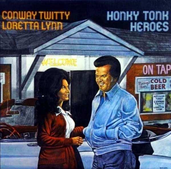 Conway Twitty & Loretta Lynn - Honky Tonk Heroes (1978) CD 1