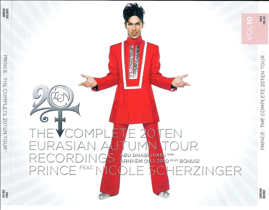 Prince & The NPG - Exodus: Original Configurations (Remix And Remasters Expanded Album Collector's Edition) (2019) 2 CD SET 9