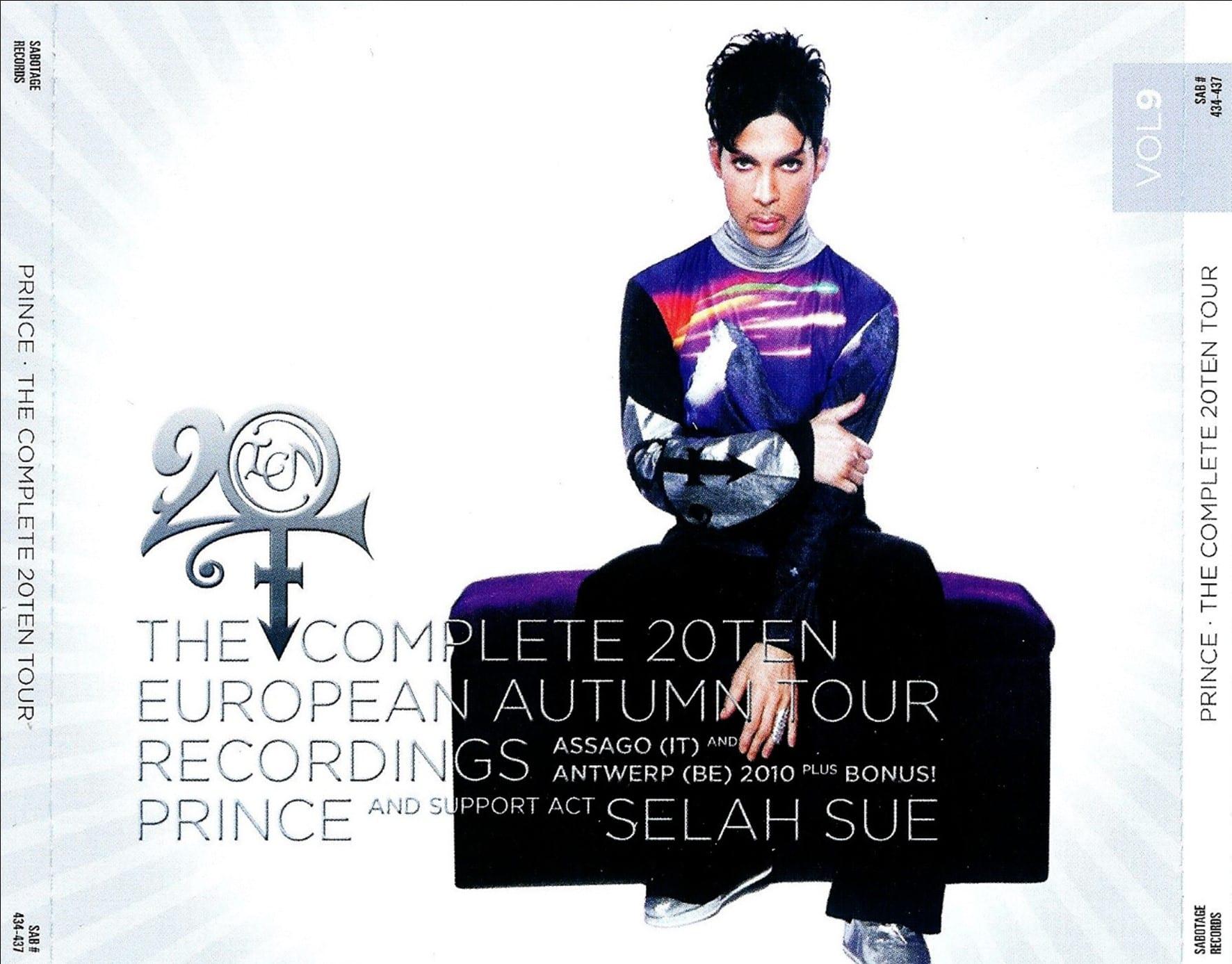 Prince - The Complete 20Ten European Autumn Tour Recordings Vol. 8 (#SAB 430-433) (2011) 4 CD SET 8
