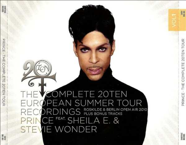 Prince - The Complete 20Ten European Summer Tour Recordings Vol. 1 (#SAB 380-383) (2010) 4 CD SET 1