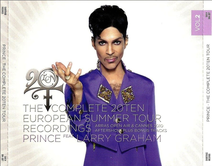 Prince - The Complete 20Ten European Summer Tour Recordings Vol. 1 (#SAB 380-383) (2010) 4 CD SET 7
