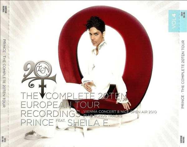 Prince - The Complete 20Ten European Summer Tour Recordings Vol. 4 (#SAB 392-395) (2010) 4 CD SET 1