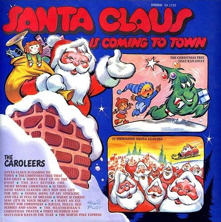The Caroleers - Santa Claus Is Coming To Town (Diplomat) (1970) CD 7