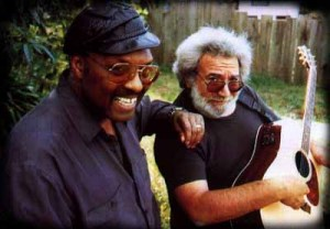 With Jerry Garcia