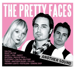 "Pretty In Pink: Members of The Pretty Faces pictured on the cover of their latest release, ""Another Sound"". (l-r) rhythm guitarist Hannah Thursland, frontman Jeph Thursland, drummer Thomas Thursland"