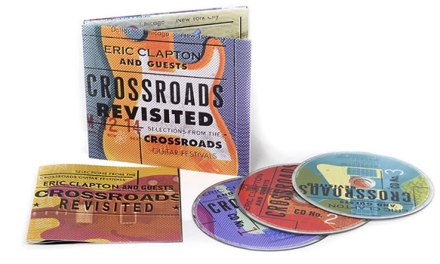 Eric Clapton 'Crossroads Revisited' 3 CD set coming July 1st
