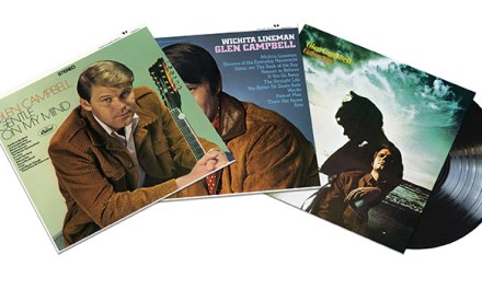 Three iconic Glen Campbell albums reissued on vinyl